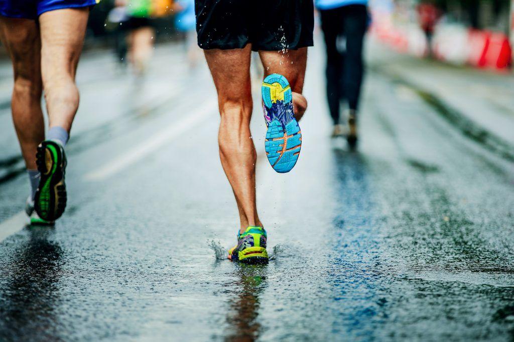 motywacja do biegania i rywal