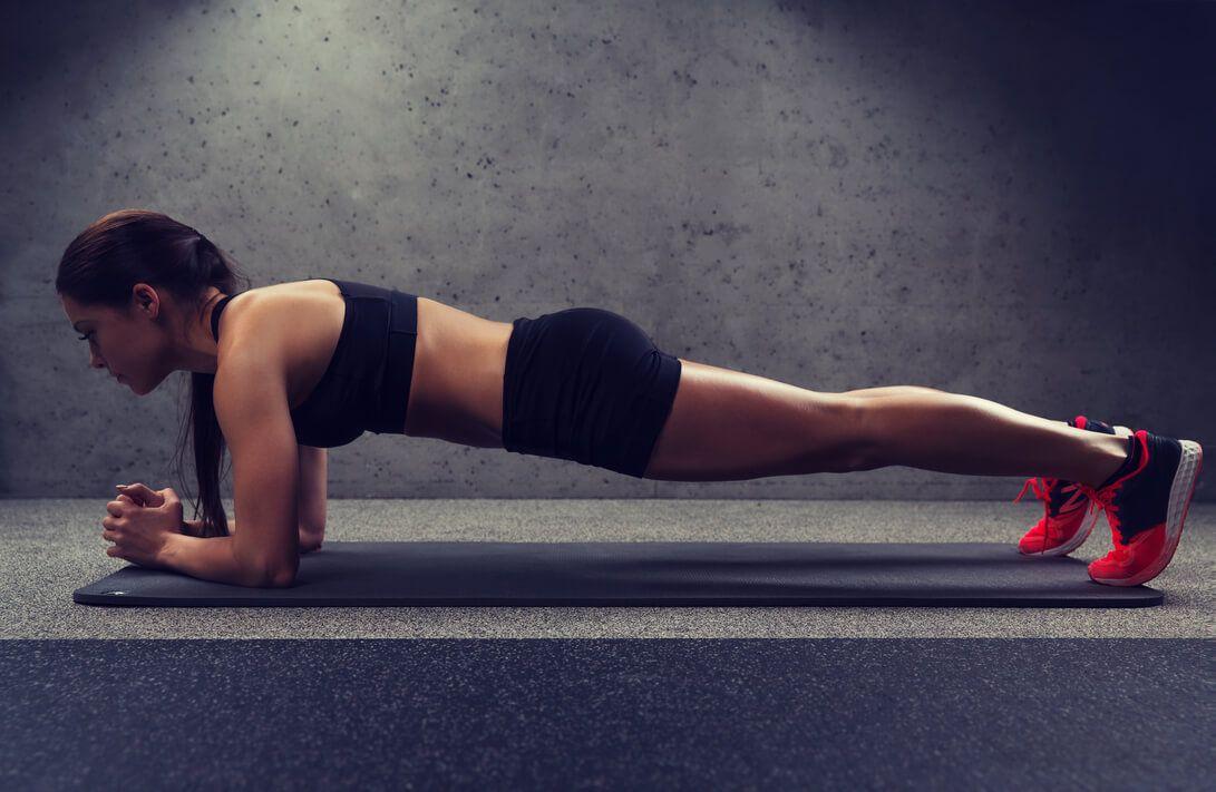 deska ćwiczenia dla biegacza