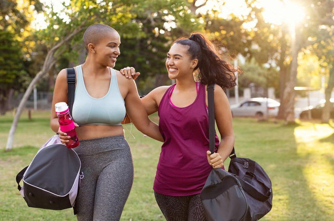 kobiety po bieganiu