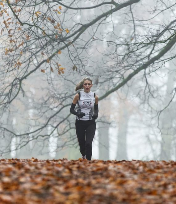 jaki strój do biegania jesienią