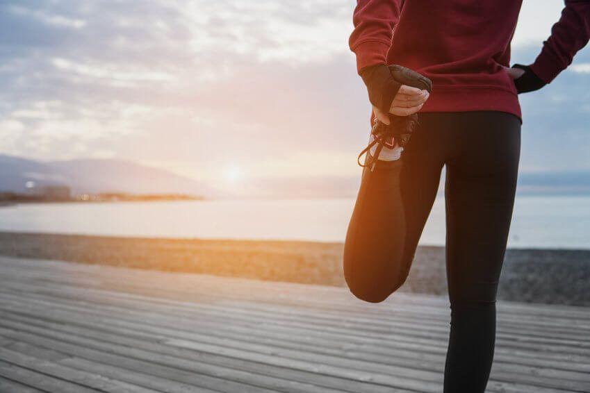 mięsień czworogłowy uda ćwiczenia rozciągające