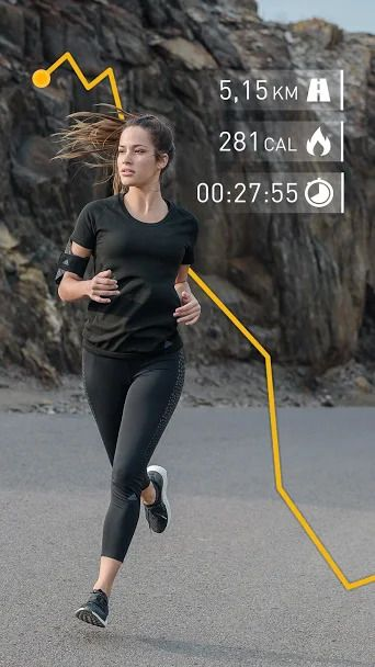 aplikacja do biegania runtastic
