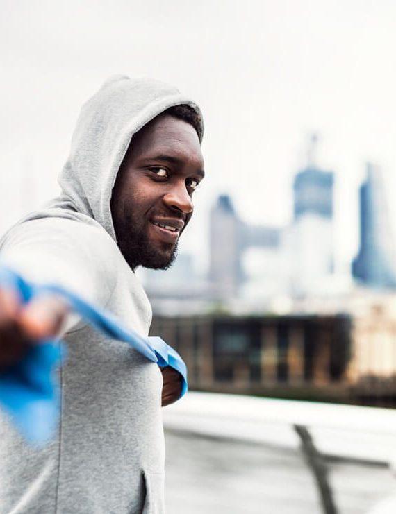 ćwiczenia z gumą dla biegaczy