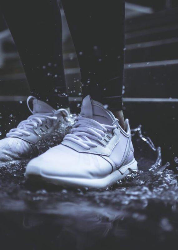 bieg podczas deszczu w zawodach
