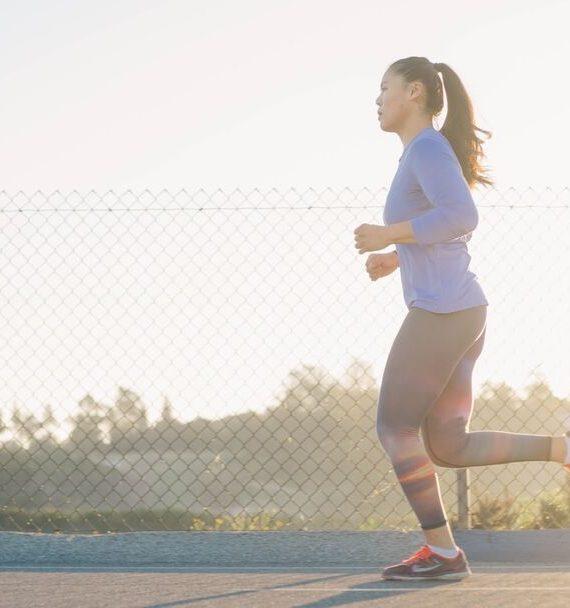 slow jogging porady