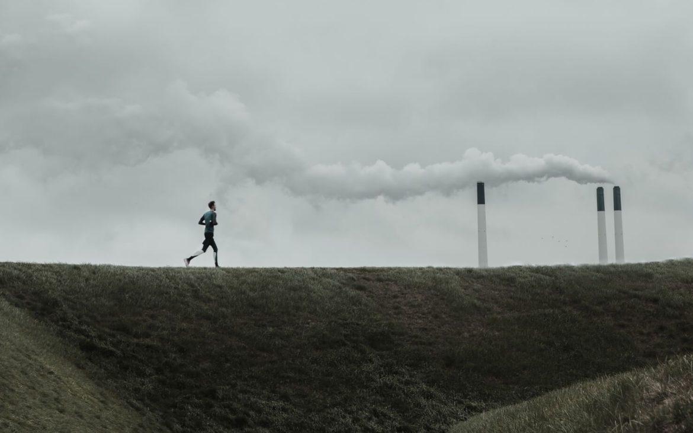maseczka antysmogowa do biegania
