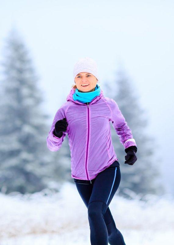 czapka do biegania na zimę