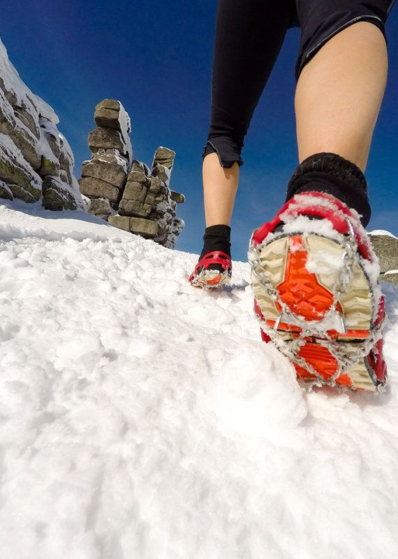 nakładki na buty do biegania zimą