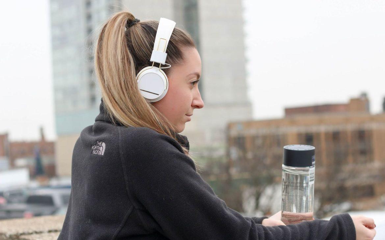 słuchawki nauszne do biegania