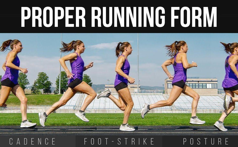 jak biegać prawidłowo technicznie