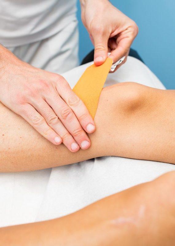 Plastry dla biegaczy - plaster rozgrzewający zakładany na kolano