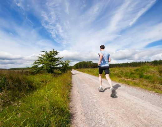 bieganie w lecie dieta