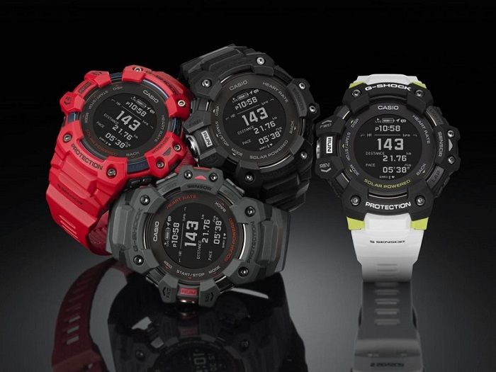 Modern design od the watch for runners