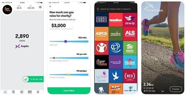 Charity Miles - running application