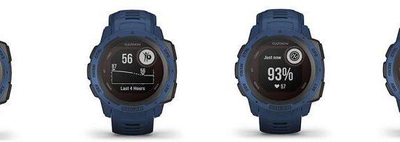 Functions of the Garmin Solar watch