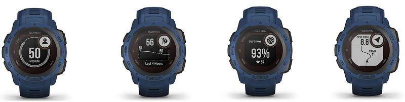 Crucial functions of th running watch - Garmin Instinct Solar