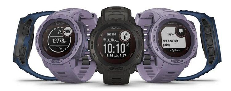 Garmin Instinct Solar - design of the watch for runners