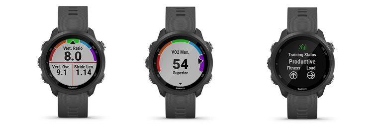 Functions of the watch for runners - Garmin Porerunner 245