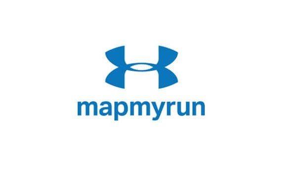 Logo of the Mapmyrun application