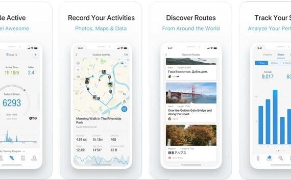 Pacer Pedometer - features of the app