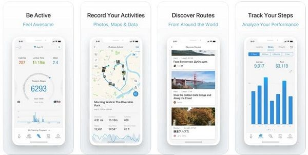 Running app - functions of the Pacer Pedometer