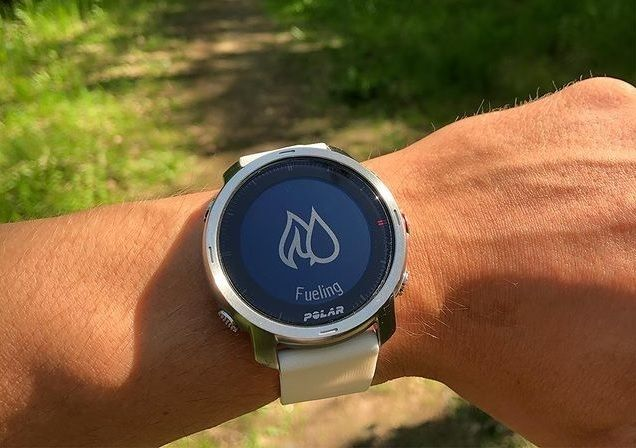 Energy Sources function - Polar Grit X running watch