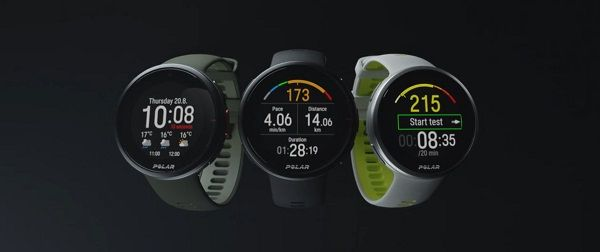 Polar Vantage V2 - design of the watch for runners