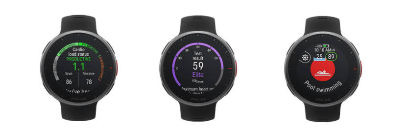 Polar Vantage V2 - watch for runners - other functions