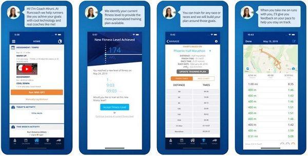 Runcoach - running app functions