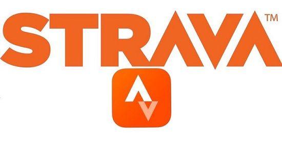 Strava - running application logo