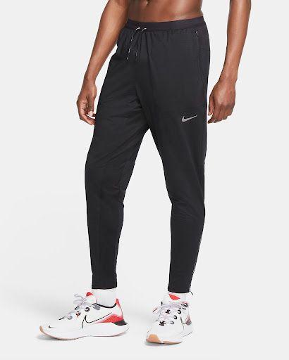 Męskie spodnie z dzianiny do biegania Nike - niezbędny sprzęt Nike dla biegaczy