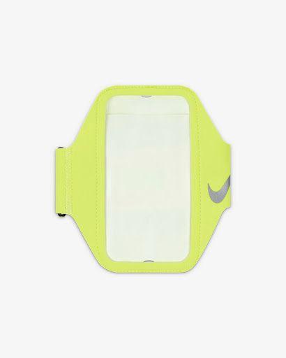 Neonowa opaska na smartphone Nike Lean